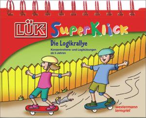 LÜK-SuperKlick. Logikrallye: Übungen für Vorschulkinder