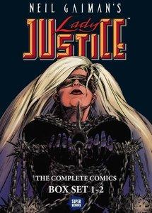 Neil Gaiman's Lady Justice Boxed Set: Volumes 1-2