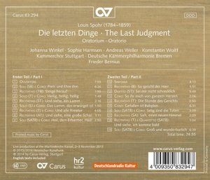 Die letzten Dinge / The Last Judgement