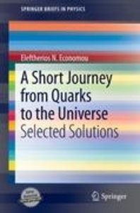 A Short Journey from Quarks to the Universe