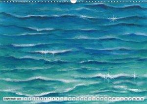 Komm mit ans Meer - Aquarelle (Wandkalender 2016 DIN A3 quer)