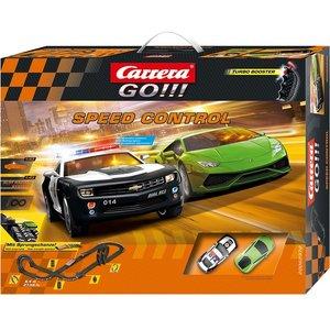 Carrera 20062370 - Go Speed Control, Rennbahn mit Lamborghini Hu