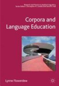 Corpora and Language Education