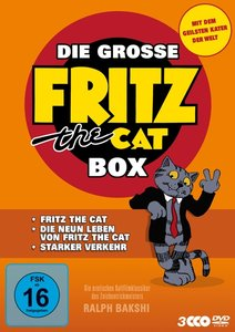 Die große Fritz the Cat Box - 3 Kultfilmklassiker: Fritz the Cat