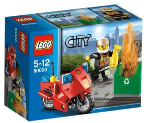 LEGO® City 60000 - Feuerwehr-Motorrad