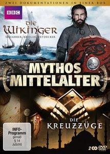 Mythos Mittelalter: Die Kreuzzüge / Die Wikinger - (Doppelpack)