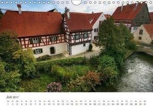 Stadtbummel im schönen Nördlingen (Wandkalender 2017 DIN A4 quer