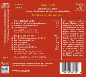 Das Lied Von Der Erde/Rückert-Lieder