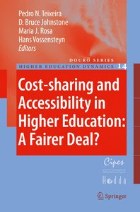 Cost-sharing and Accessibility in Higher Education: A Fairer Dea