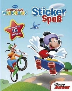 Disney Junior Micky Maus Wunderhaus - Stickerspaß