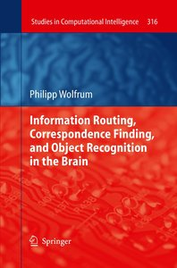 Information Routing, Correspondence Finding, and Object Recognit