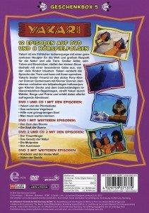 Yakari - Die Geschenkbox 05/2 DVD + 2 CD