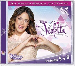 Disney - Violetta. Staffel 2 - Folge 05 + 06