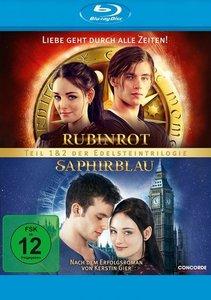 Rubinrot & Saphirblau