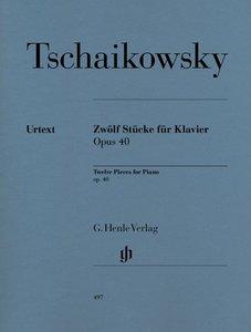 Zwölf Stücke für Klavier op. 40