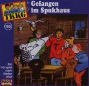 TKKG 155. Gefangen im Spukhaus