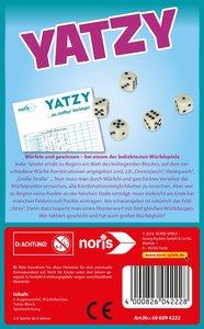Noris 606094222 - Yatzy Würfelspiel, Reise- und Mitbringspiel