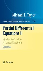 Partial Differential Equations II