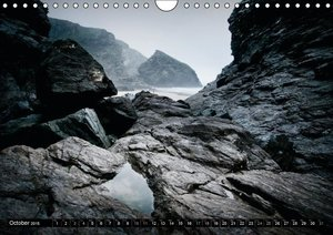 COAST - Photographs of the British Coast (Wall Calendar 2015 DIN