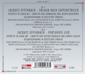 Urlaub Nach Zapfenstreich/Fortunios Lied