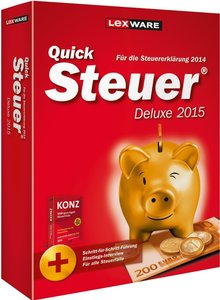 QuickSteuer Deluxe 2015