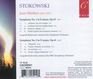 Sibelius Sinfonien 1+2