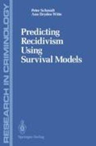 Predicting Recidivism Using Survival Models