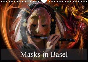 Masks in Basel (Wall Calendar 2015 DIN A4 Landscape)