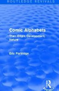 Comic Alphabets