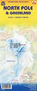 Greenland & North Pole/ Grönland & Nordpol 1 : 1 3000 000 / 9000