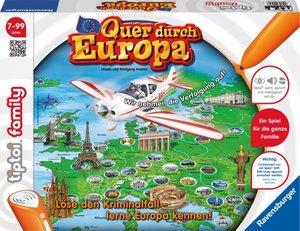 Ravensburger Spieleverlag 00579 - Tiptoi: Quer durch Europa