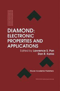 Diamond: Electronic Properties and Applications