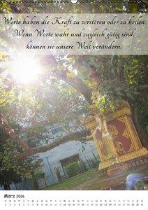 Buddhas Weisheiten (Wandkalender 2016 DIN A2 hoch)