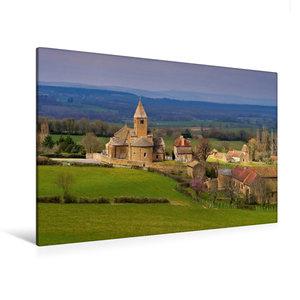 Premium Textil-Leinwand 120 cm x 80 cm quer La Chapelle-sous-Bra
