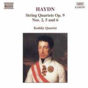 Streichquartette op.9,2+5+6