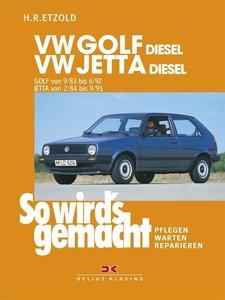 So wird's gemacht, VW GOLF DIESEL / VW JETTA Diesel