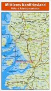 Nordfriesland (Mittleres) Reiterkarte 1 : 50 000