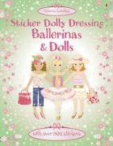 Sticker Dolly Dressing. Ballerinas and Dolls