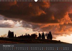 Tuscany - Landscape of the Soul (Wall Calendar 2015 DIN A3 Lands