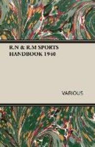 R.N & R.M SPORTS HANDBOOK 1940