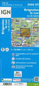 Brignoles / Le Luc 1 : 25 000