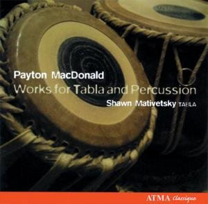 MacDonald: Works for Tabla and Percussion