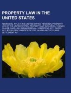 Property law in the United States