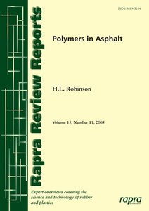 Polymers in Asphalt