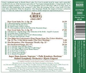 Peer Gynt Suiten/Orchesterlieder
