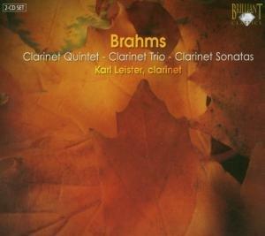 Brahms: Sämtliche Kammermusik für Klarinette (GA)