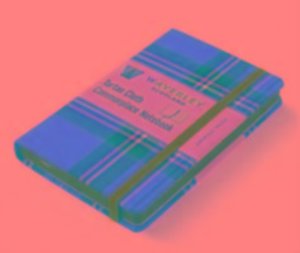 Waverley Scotland Large Tartan Cloth Commonplace Notebook - Roya