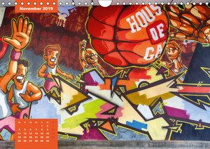 Graffiti (Wandkalender 2019 DIN A4 quer)