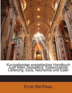 Kurzgefasstes exegetisches Handbuch zum Alten Testament. Siebenz