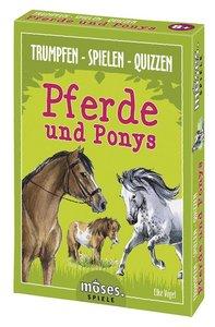 Trumpfen Spielen Quizzen Pferde